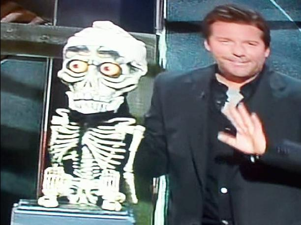 Jeff Dunham tells an anti Semitic joke